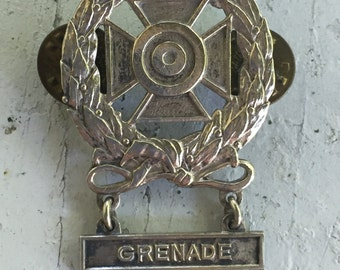 Military Pin GRENADE WWII