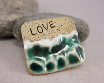 MyLand -  Summer Love - Collectible 3x3 cm or 1.2x1.2 in. puzzle in stoneware