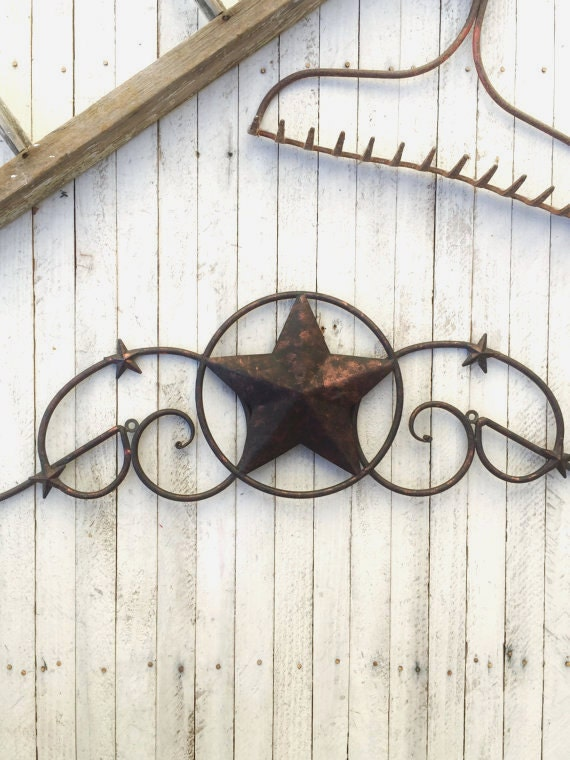 White Star Wall Decor : Items similar to sale metal star wall decor white home