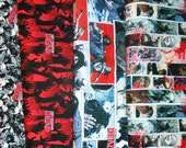 WALKING DEAD  fabrics, sold individually,not as a group, sold by the Half Yard, please see body of listing