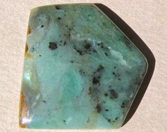 Luminous Nephrite Jade Cabochon