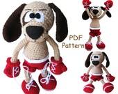 Crochet toy Amigurumi Pattern  - The Boxer