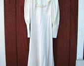 Misty - vintage prairie dress M L