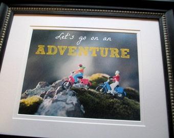 Adventure Nursery Art, Let's Go On An Adventure Printable, Travel Nursery Art, Instant Download, Nursery Art, Kids Room Decor, Adventure Art