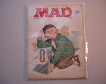 MAD Magazine Vintage 1967 Edition No. 110 Sealed and Preserved