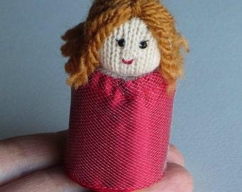 Princess plush soft sculpture doll