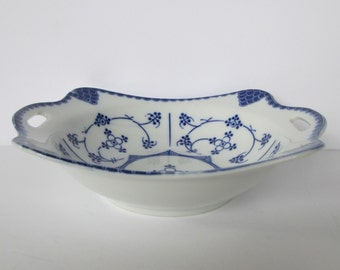 Indian Blue Porcelain Dish