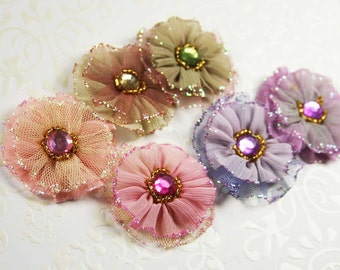 Prima tulle flowers- Ballerina Blooms