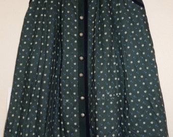 Meico Landhaus Look Dirndl German/Swiss Skirt tag size 14 USA