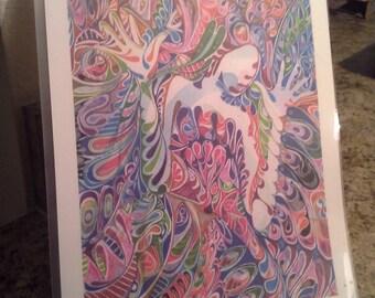 Ophelia homemade print