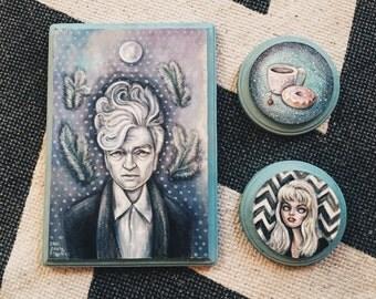 Twin Peaks set of original paintings