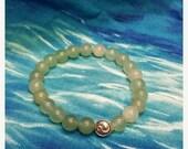 ON SALE Green Aventurine, Yin Yang Bracelet,Gemstone Bracelet