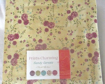 SALE Prints Charming Fabric - Layer Cake - Sandy Gervais - Moda