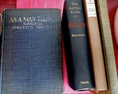 Early 20th Century American Plays by Augustus Thomas, Winston Churchill, Thomas Ewing Jr, Shabby Old Books, Cottage Chic Books