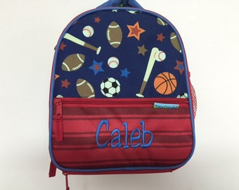 Personalized Stephen Joseph All Over Print Sports Lunchbox