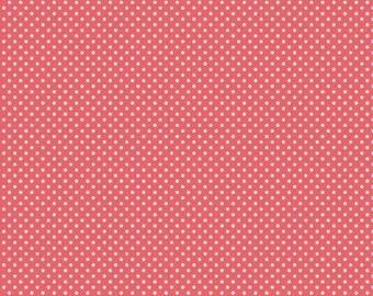 Riley Blake Designs Fabric BTY Kensington Red Dots C3325
