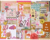 I Love Pretty Things- Sunset Collection: Scrapbook Kit, Mixed Media Kit, Journal Kit, Planner Goodies