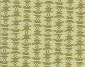 Art Gallery Fabrics - Moss Dangling Ovals - Fabric 1 yard off of bolt (more available)
