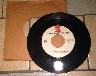 1971 Coca Cola Jingle Record by The New Seekers