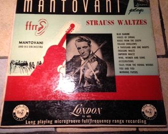 London Mantovani Strauss Waltzes Record