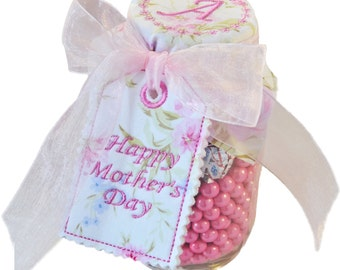 Mother's Day Mason Jar Tags and Toppers