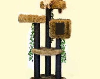 5u0027 high colorado sturdy cat tower best cat beds