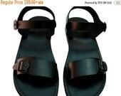 20% OFF Black Eclipse Leather Sandals for Men & Women