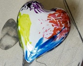 Extra Large Glass Heart, ...