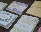 SALE - Sympathy Letterpress Greeting Card Pack (Assorted) - 20 Cards And Envelopes
