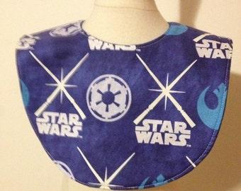 SALE! Star Wars glow in the dark baby bib