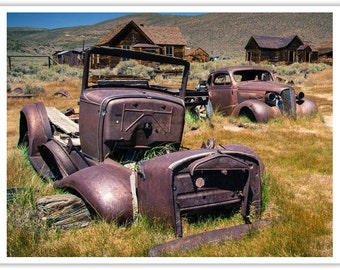 Ghosts of Bodie - Bodie, CA  - Color Silver Art Print - Fine Art Photography - Wall Art