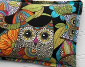 Microwavable Heating Pad and Ice Packs, Keepin' Cozy Willy Pad; Warm Compress and Cold Compress, 4 Sizes - Owl Doodle