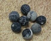 Agate Matte Big Beads