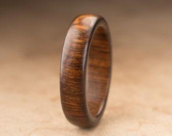 Size 11 - Tamboti Wood Ring No. 259