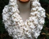 Handspun Cheviot Wool Cowl
