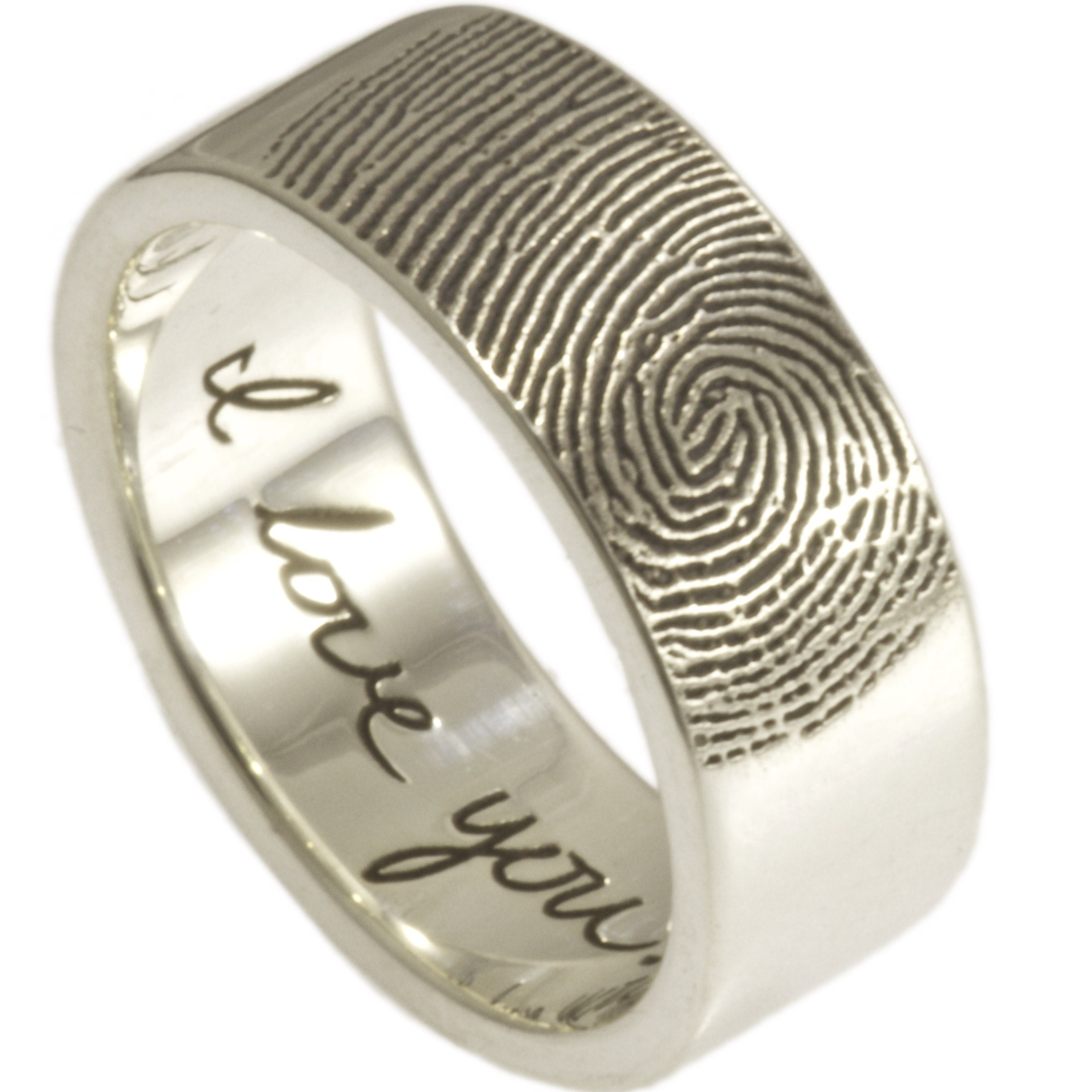 Custom Fingerprint Jewelry by Brent & Jessica by fabuluster
