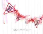 Valentine Decoration BE MINE Banner Party Decoration Home Decor