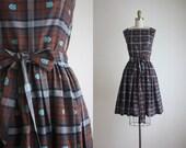1950s fall harvest dress