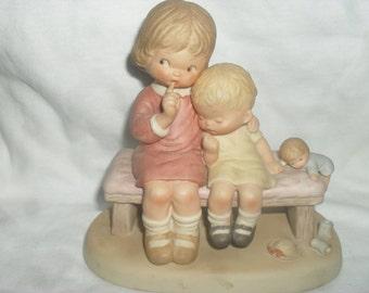 Vintage - Memories of Yesterday - Hush Figurine - Lucie Attwell - Enesco