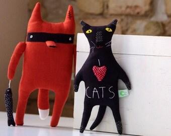 Cat doll. I love cats.