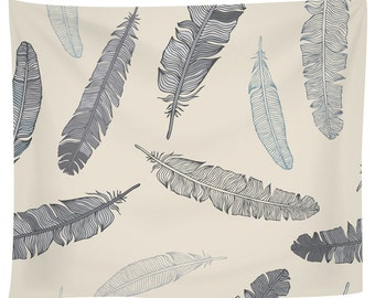 Goose Feathers Tapestry