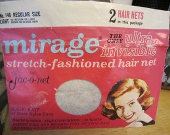 Mirage Jac-o-net Hair nets  5 Brown Tones