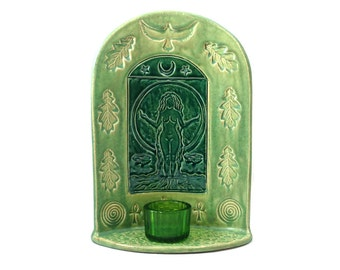 Gaia's Shrine Mother Earth Handmade Ceramic Pottery