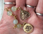 The Loving Kindness Mala- New Jade abd gold tone. Raising money for Alzheimers Disease