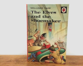 Vintage Ladybird Book - The Elves and the Shoemaker - Children's Book - Hardcover - 1970s
