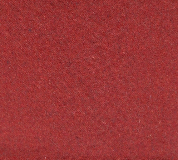 Barn Red- Felted Wool Fabric Yard in 100% Wool Perfect for Rug Hooking,  Quilting, Sewing, and Applique by Quilting Acres
