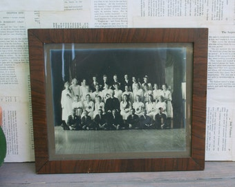Antique Class Photo