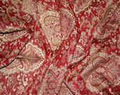 5.8'x2.3' Woven Red Tent Fabric