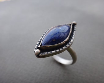Night Sky Lapis Lazuli Ring