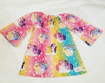 My Little Pony Dress, girl dress, pageant dress, pony dress